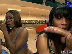 Ten Pin Ass Hammer w/ Bella & Jayla Foxx