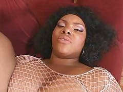 Horny ebony BBW Mystere got her stud so horny with her luscious, plump body. They feast over each others naked body and start off their hardcore fucking. These slutty lady lies down and spreads her legs to welcome her buddys pulsating dick in her s