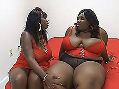 T. Sparks and Scented Kisses love nothing more than the taste of another black BBW's pussy