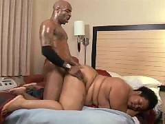 Big black girl Kitten loves getting her plump pussy pounded proves it in this steamy scene. This time she and her boyfriend engage in doggy fucking. Kitten goes down on all fours and got her chubby cooter fucked from behind in this intense porn clip.